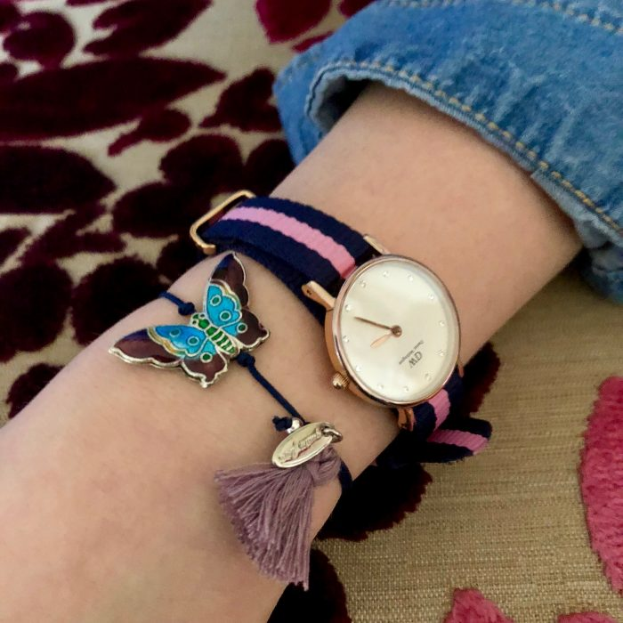 Oh Orient Armband Schmetterling mit Quaste