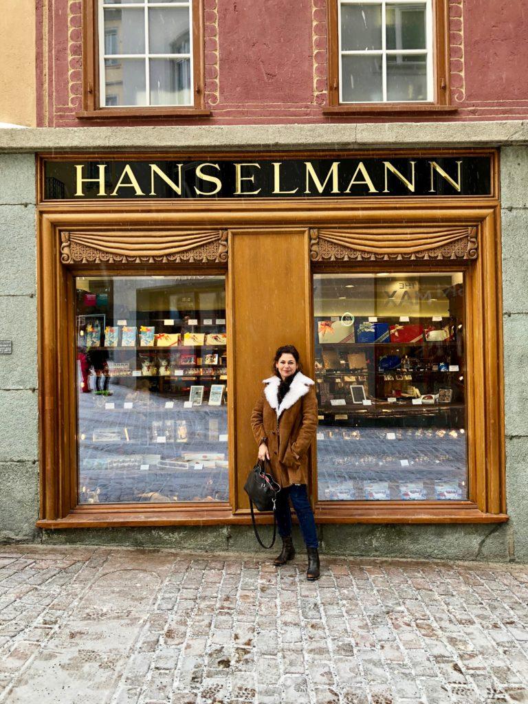HanselmannConfiserie Bettina Fassade außen