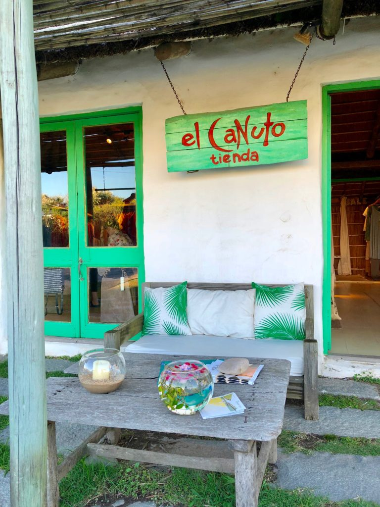 Punta del Este, Uruguay ~ fancy shops on my list!El Canuto shop entrance