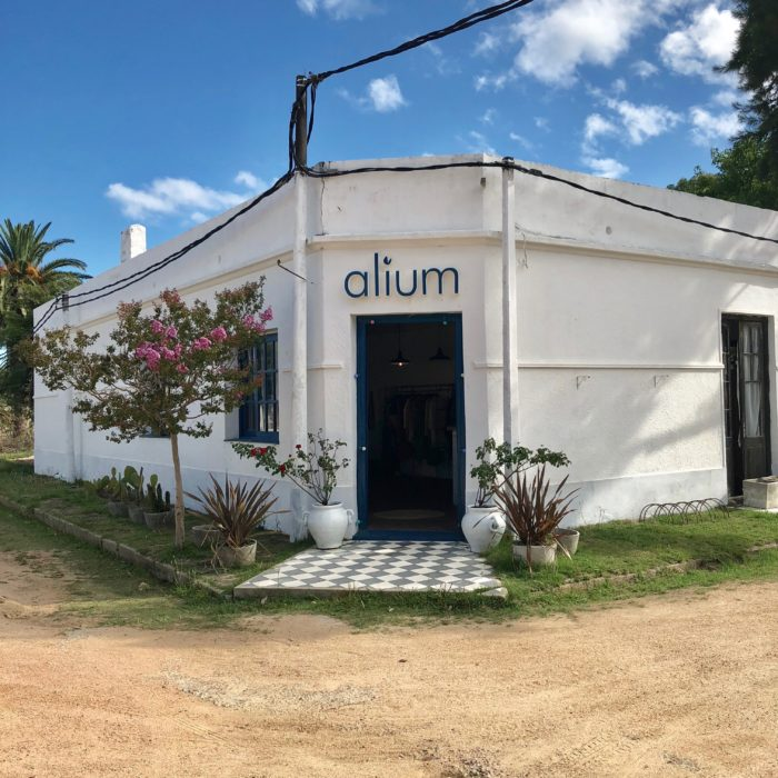 Pueblo Garzon ~ a luxury wild-west feeling in Uruguay Shop Alium outside