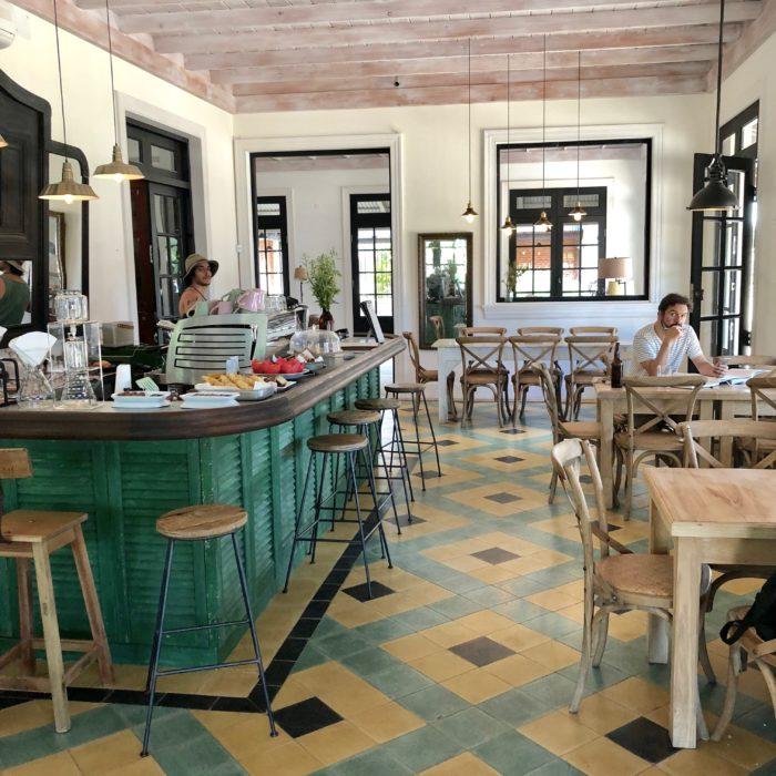 Pueblo Garzon ~ a luxury wild-west feeling in Uruguay panaderia de la mama garzon inside