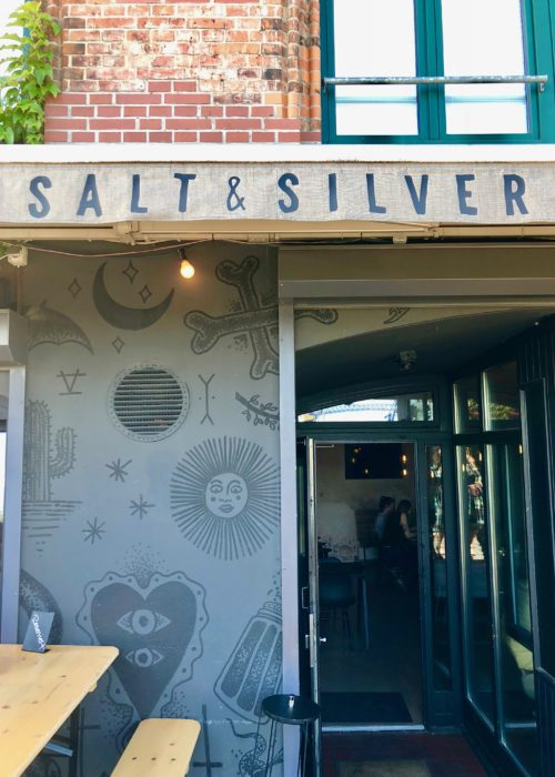 Salt & Silver ~ culinary souvenirs in Hamburg Salt & silver entrance