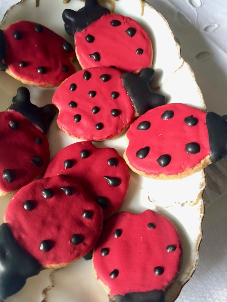 Ladybug-make-a-wish...plate